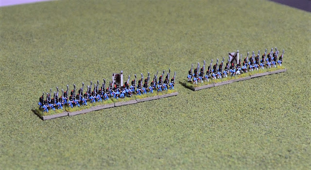 On the Workbench: More 6mm Spanish units and 2mm arrives!
