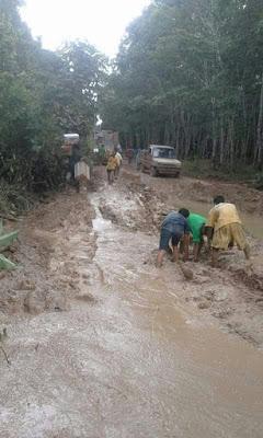 Tiga Desa Di OKI  Terancam Terisolir
