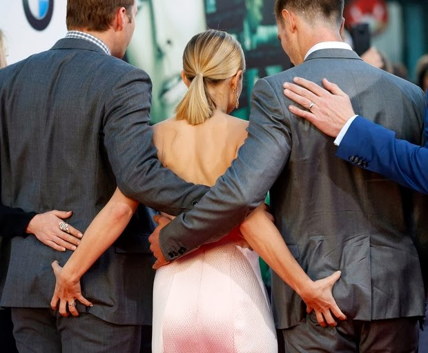 Kristen Bell, Jason Dohring and Ryan Hansen