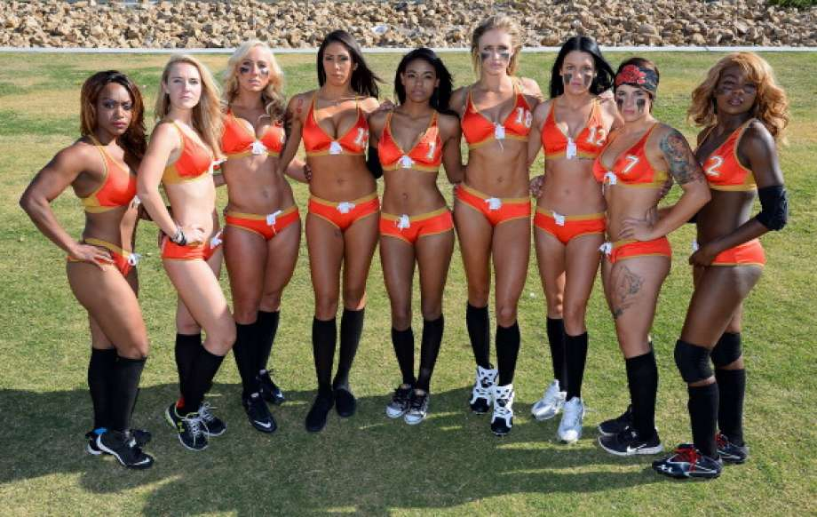 Bikini-clad pro football league