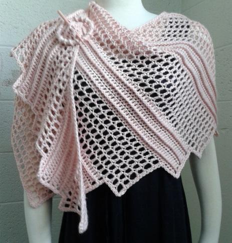 Haciendo un Ruana a crochet, paso a paso - Crochet Top