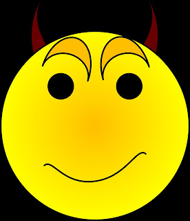 Yellow Devil Smileys