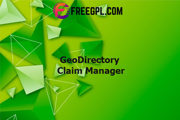 GeoDirectory Claim Manager Nulled Download Free