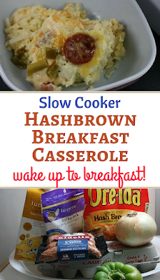 Waking up to breakfast is awesome! This is a fantastic base recipe for the crockpot slow cooker using hashbrowns, eggs, and cheese. Add sliced smoked sausage or browned and drained breakfast sausage or you can make it completely vegetarian.