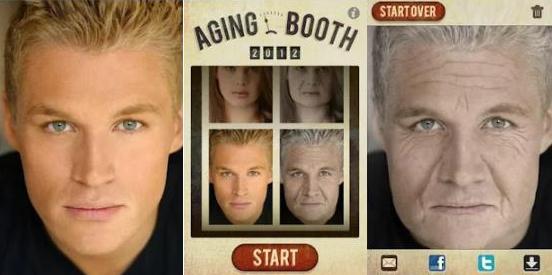 Aplikasi membuat wajah menjadi muda dan tua