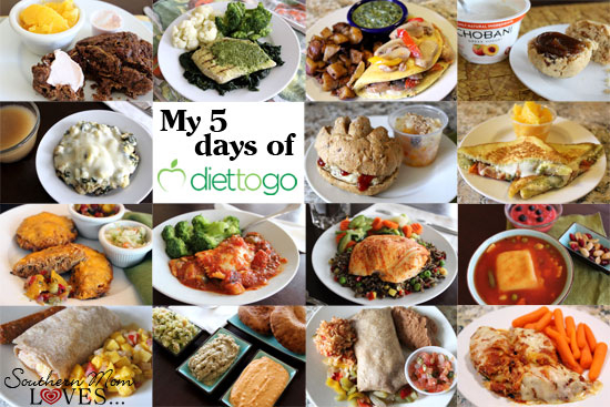 My 5 Days of Diet-to-Go: Traditional Menu {Plus a 25% Off Code!}