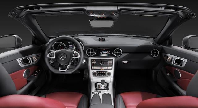 2018 Mercedes SLC Interior