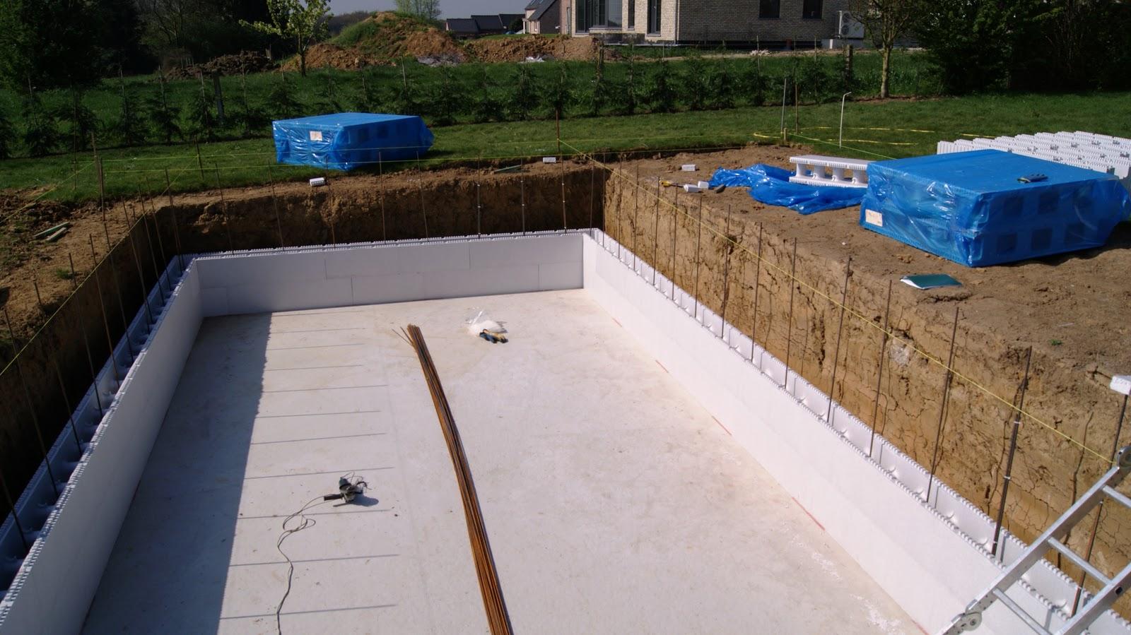 ma piscine en polystyr ne la pr paration des blocs et le. Black Bedroom Furniture Sets. Home Design Ideas