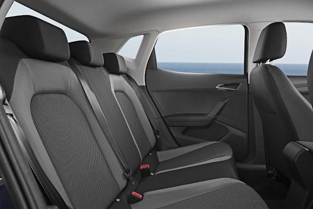Novo Polo 2018 - Seat Ibiza - interior