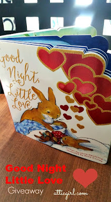 Goodnight Little Love Board book from Thomas Nelson