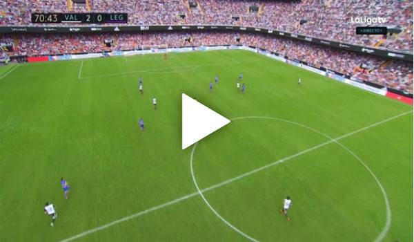 Video Valencia 3 - 0 Leganes La Liga Vòng 11