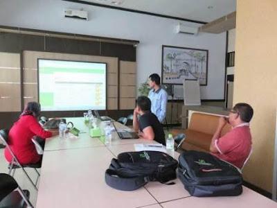 DPKKD Kabupaten Aceh Singkil mengikuti pelatihan Manajemen Aset