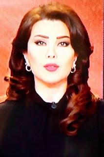 لينا علوش (Lina Allouche)، مذيعة سورية، تعمل في قناة ميدي 1 تيفي المغربية