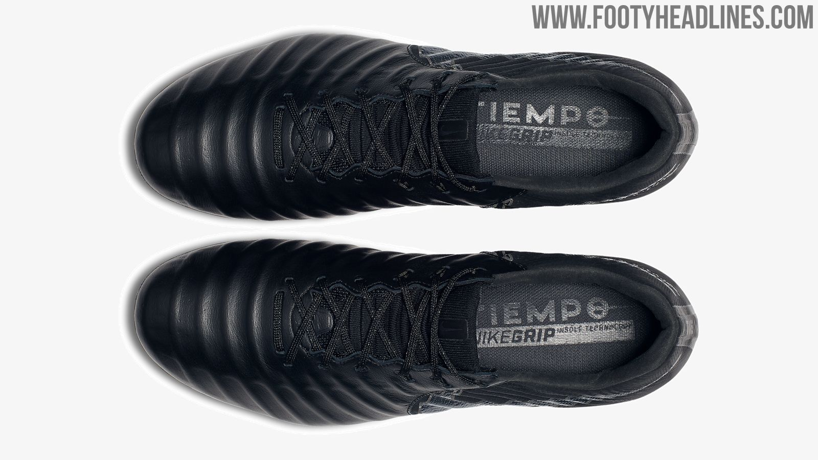 5c9d73b6a Blackout Nike Tiempo Legend VII Stealth Ops Boots Released - Footy ...