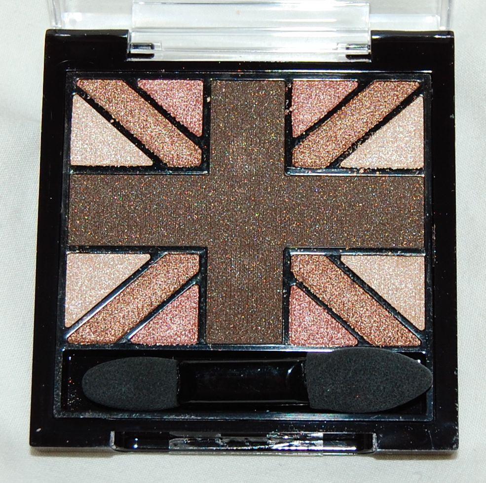 Glam'Eyes HD Quad Eyeshadow Palette - English Oak by Rimmel #11