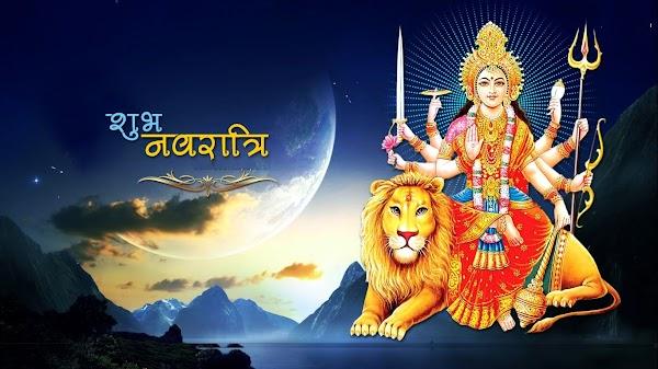 {*New Added*} Happy Navratri Quotes in Hindi, Message, SMS, Shayari ,Status