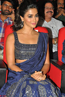 Pooja Hegde choli saree at DJ Duvvada Jaggannadham music launch ~  Exclusive 31.jpg