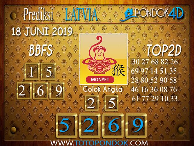 Prediksi Togel LATVIA PONDOK4D 18 JUNI 2019