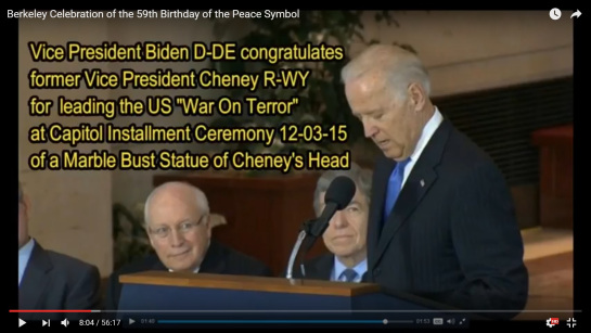 C-SPAN Vice President Dick Cheney Bust Dedication