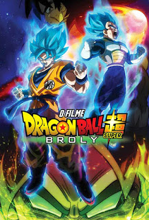 Dragon Ball Super: Broly - BDRip Dual Áudio