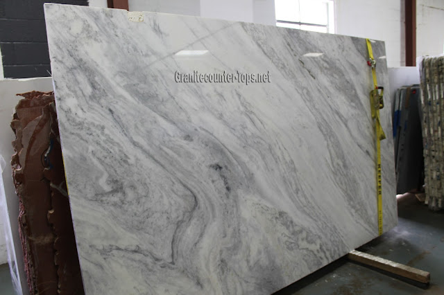White Super White Marble Slab