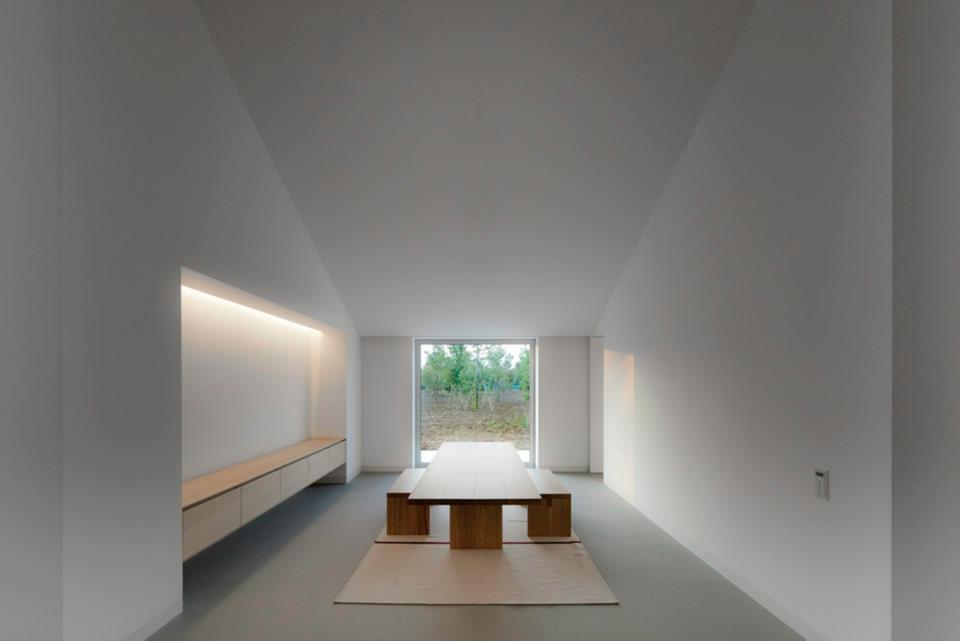 simplicity love Casa delle Bottere Italy  John Pawson