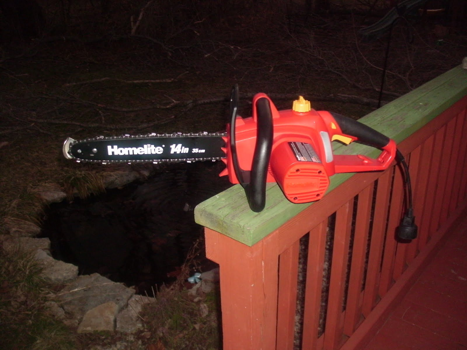 Sigbigdig Homelite 14 Inch Electric Chain Saw