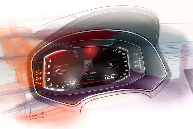 Seat Arona Seat 2019 - interior - Cockpit Digital
