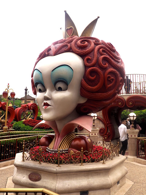 Alice in Wonderland maze, Shanghai Disneyland, China