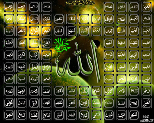 (PDF) The Beautiful Names of Allah (SWT)