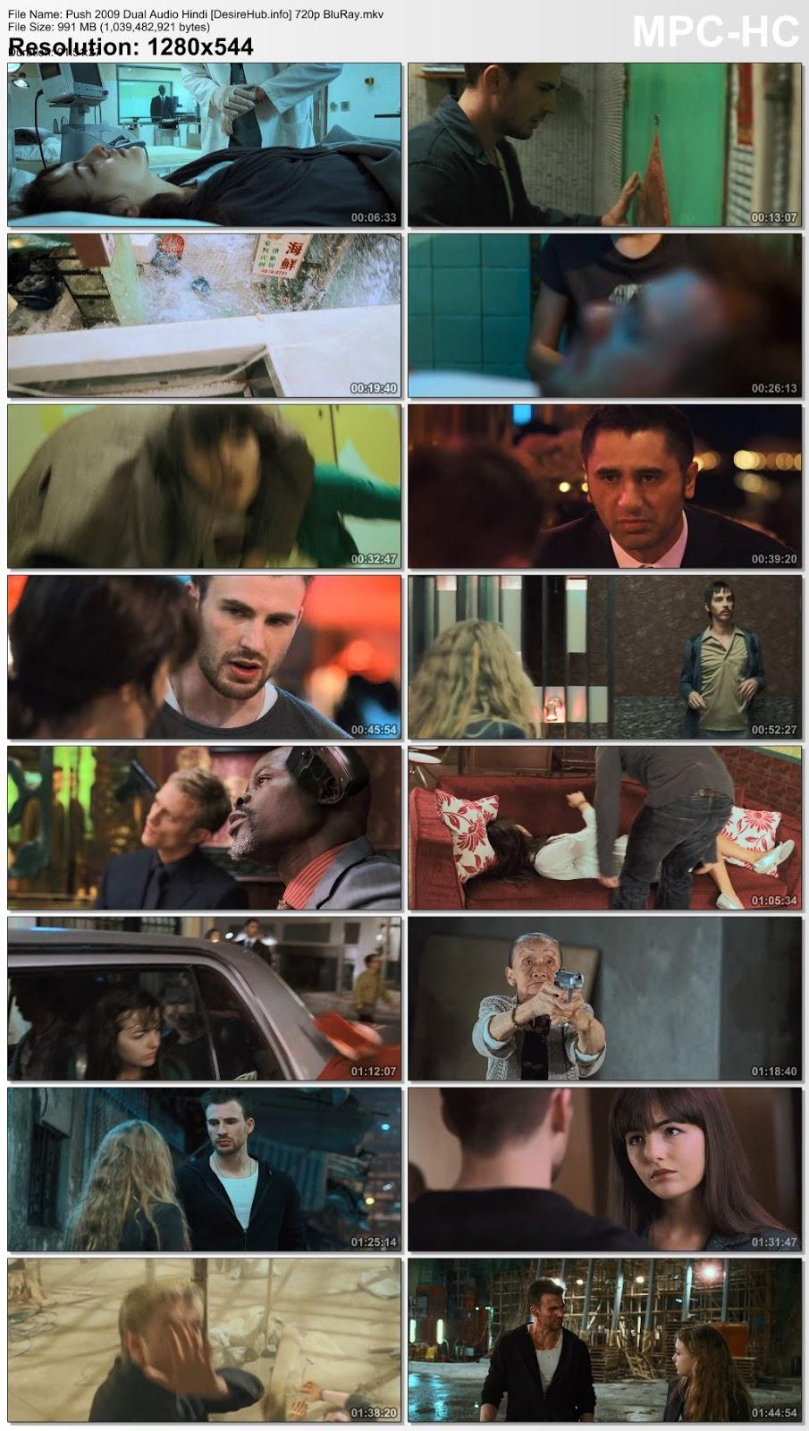 Push 2009 Dual Audio Hindi 480p BluRay 300MB Desirehub