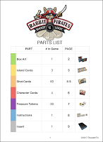 Production file parts list created by Imagine That! Design