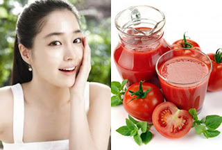 Cách làm trắng da hiệu quả tại nhà với cà chua