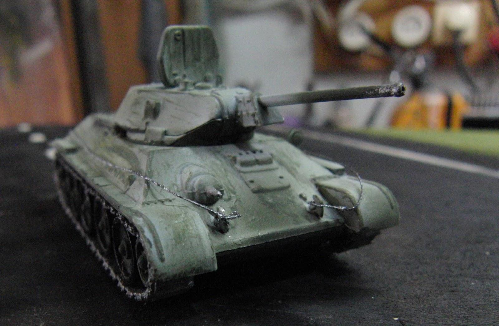 JN Model kits Review: Pegasus 1/72 T34-76