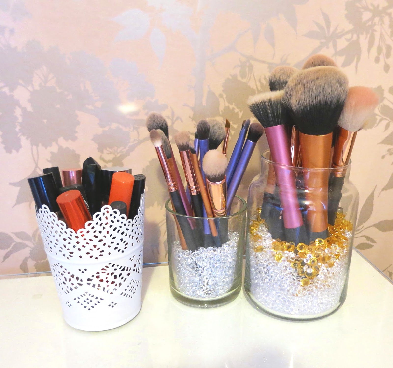 Cute Makeup Brush Holder DIY | Corrie Arnold