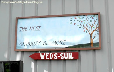 The Nest Antiques & More Shop in Palmyra Pennsylvania