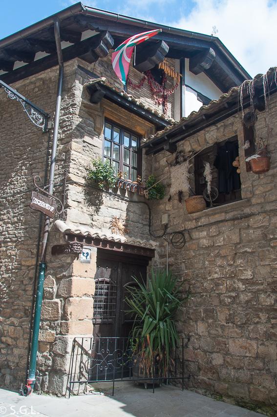 Detalle de calles de Pamplona. Pamplona mucho mas que Sanfermines