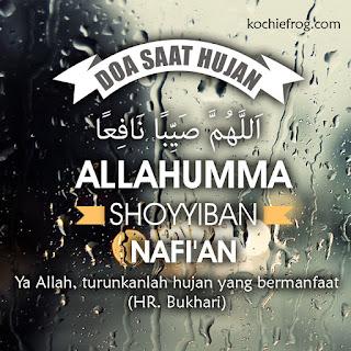 status doa saat hujan pertama
