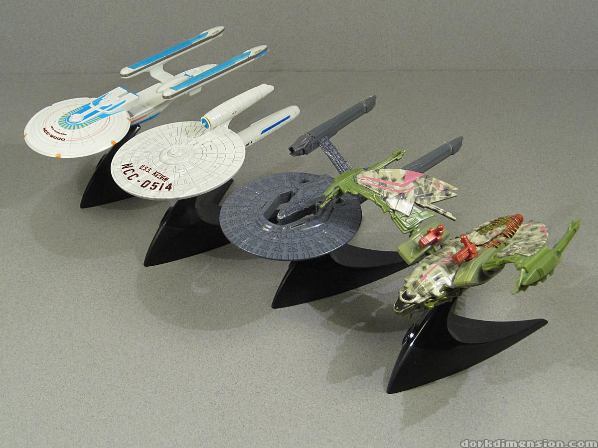 Dork Dimension Toy Review USS Excelsior USS Kelvin USSUss Vengeance Hot Wheels