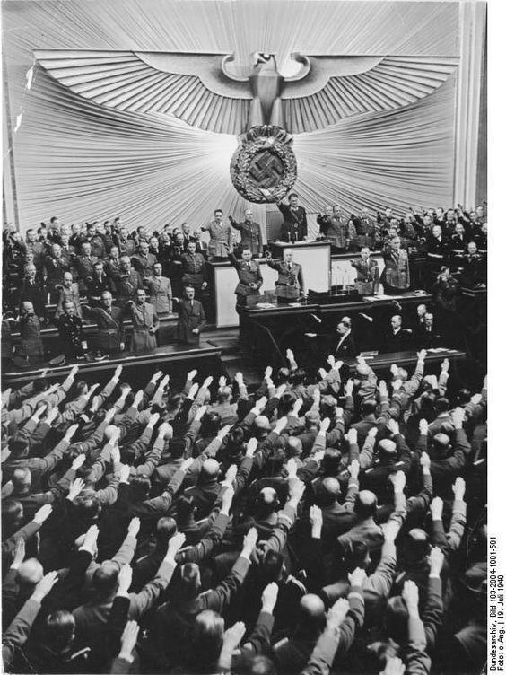 19 July 1940 worldwartwo.filminspector.com Hitler Kroll Opera House