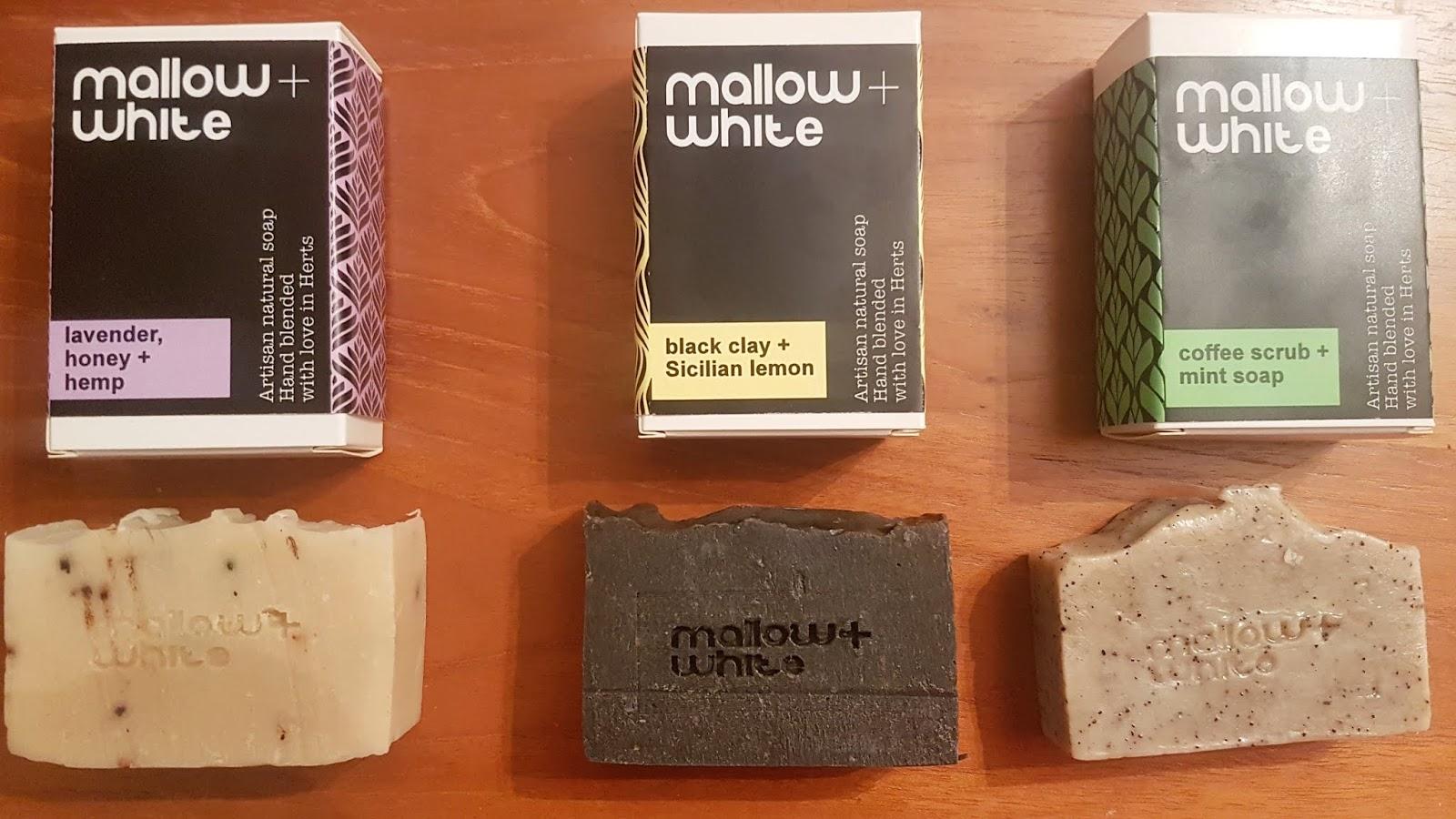 Mallow + White soaps review plastic free swaps