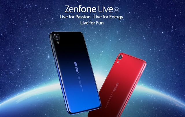 ASUS ZenFone Live L2 with up to 2TB of storage and 3000mAh battery