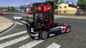 Horror skin for Scania R