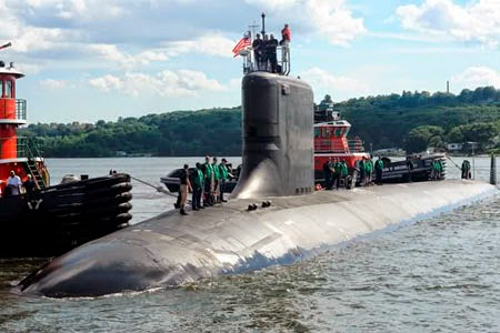 Kapal Selam Virginia Class USA (Fast Attack Submarine)