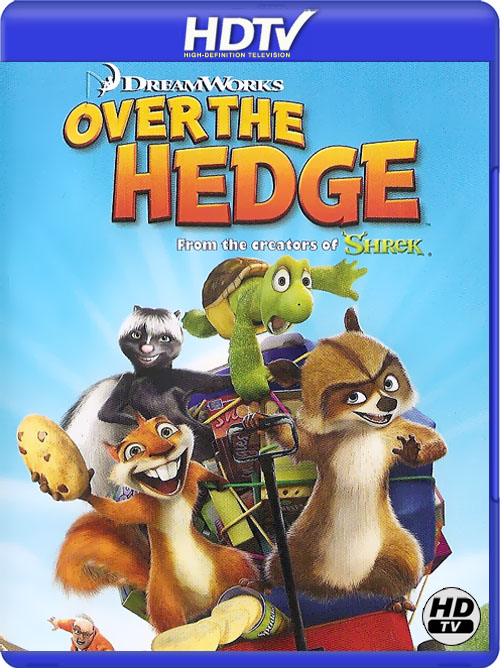 Over The Hedge 2006 Daul Audio 720p BRRip 400Mb x265 HEVC