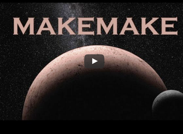 Hubble Found Moon Orbiting the Dwarf Planet Makemake Video