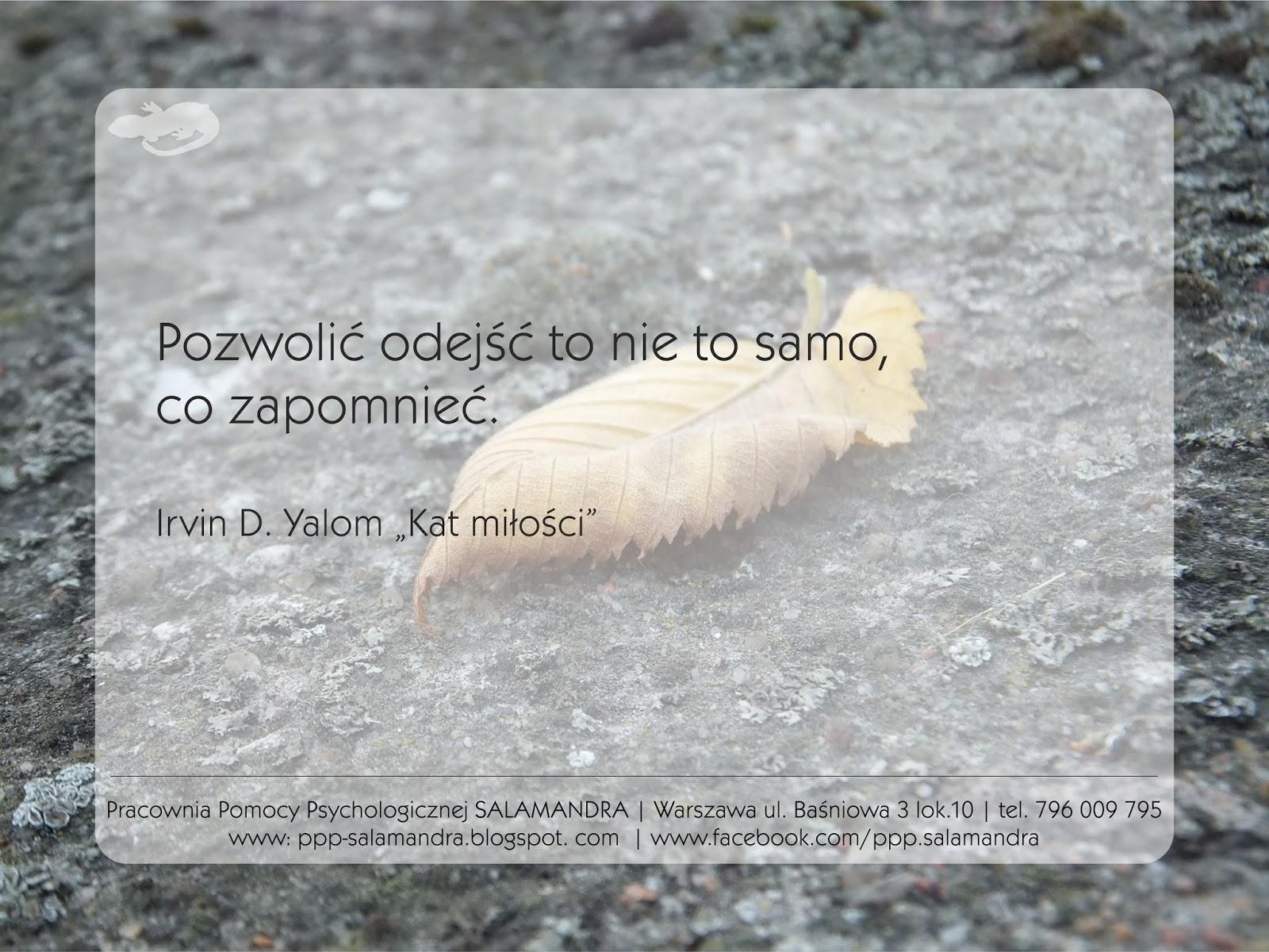 Dobry psycholog Warszawa o pamięci i pożegnaniach