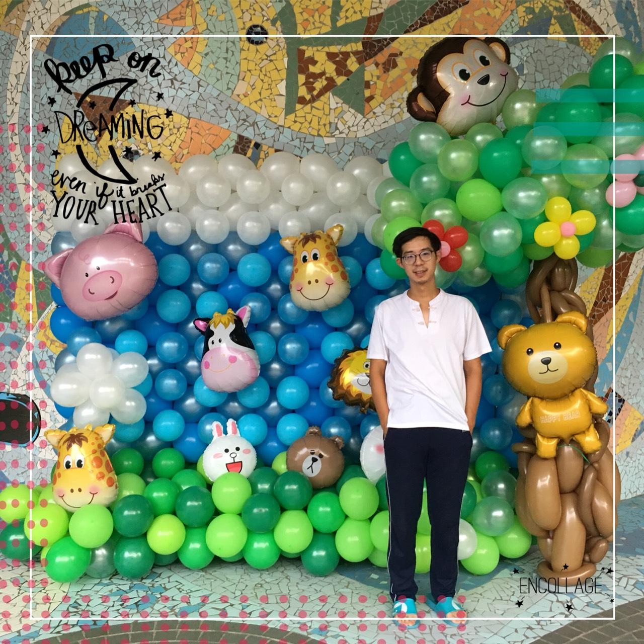 氣球叢林主題佈置
