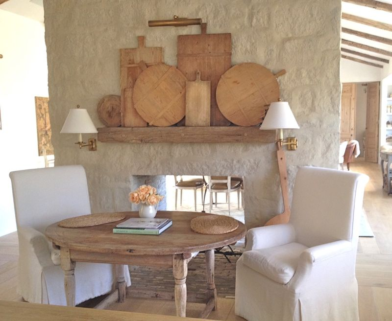 A Stroll Thru Life: Decorating With Antique Breadboards