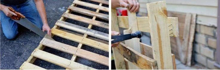 Cara Membuat Kerajinan Tangan Yang Mudah | Meja Pallet Bekas 2